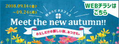 Meet the new autumn!!